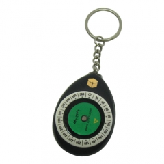 KanPas Qibla Compass Keyholder #M-25-K  / minimum order 20 pieces