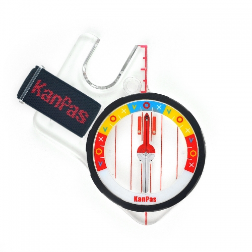 KanPas Elite Competition Thumb Compass with half thumb baseplate/ MA-45-FS Fast