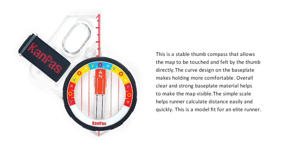 the best elite thumb compass for orienteering