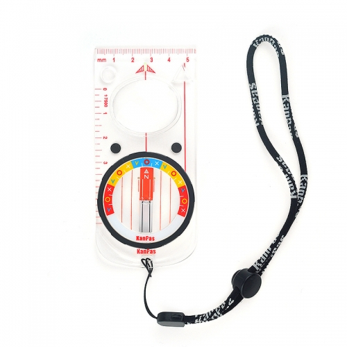KanPas Elite Base Plate Orienteering Compass With Magnifier #MAG-45-FS Stable