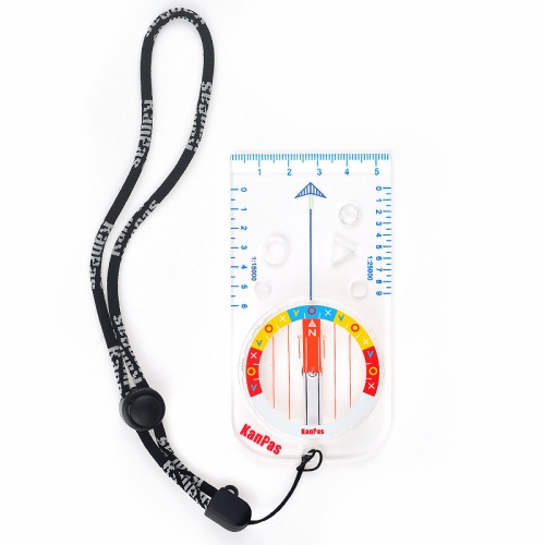 KanPas Elite Baseplate Compass For Orienteering #MAB-43-F