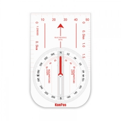 KanPas Baseplate Compass Big Teaching Model/ Demonstration Compass