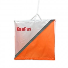 KanPas Reflective Night Orienteering Marker, 30x30 cm/ set of 10 pieces