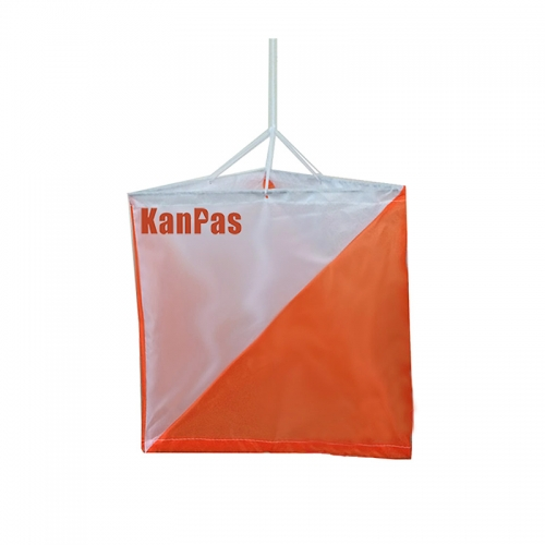 KanPas Orienteering Marker Flag Medium / Size:15X15cm / set of 10pcs /#OM-01