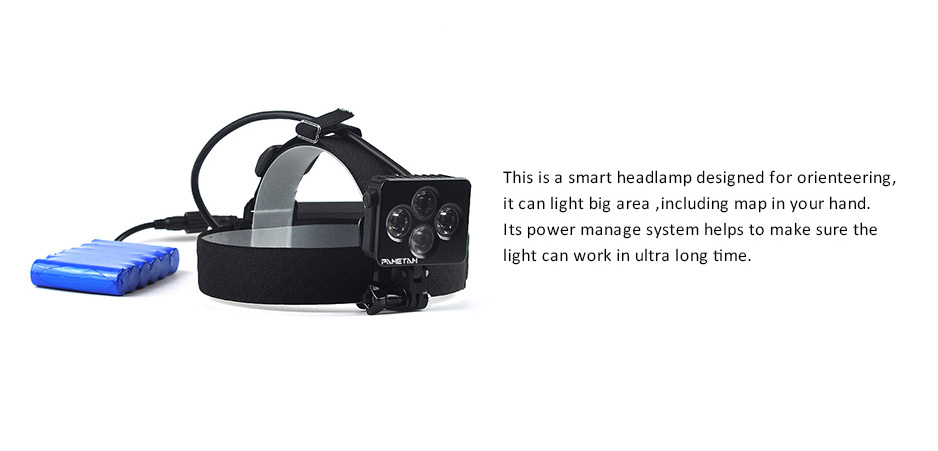 PAMETAM best trail running headlamp