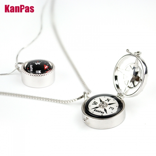 adventurer in mind,KANPAS 925 sterling silver Jewelry workable compass/  durable compass /S-20/S14/S14-01