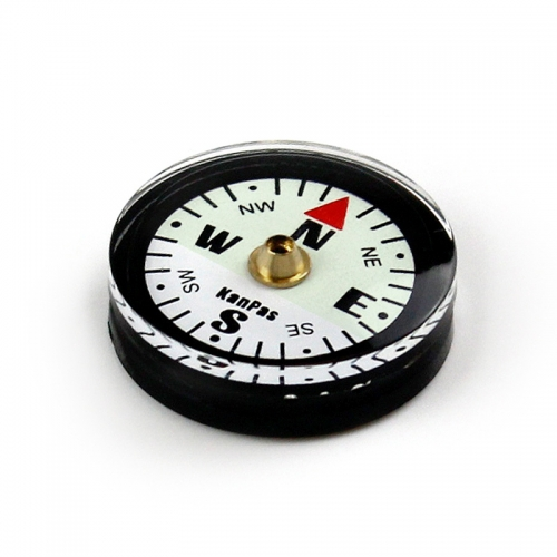 KanPas Iceage version Luminous Button Compass #A-25-S